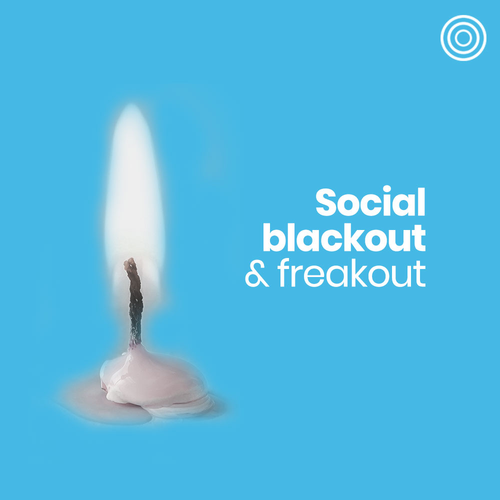 Blackout horror: chargers & ghosts wanted?